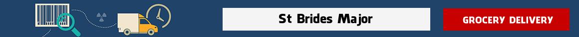 shop at online grocery St Brides Major